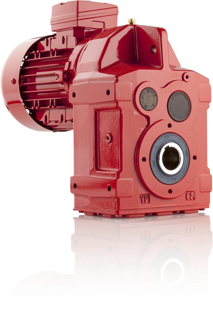 Motoriduttore ad assi paralleli / a ingranaggi elicoidali / ad albero cavo / per l'industria agroalimentare (YP Serie) - 1